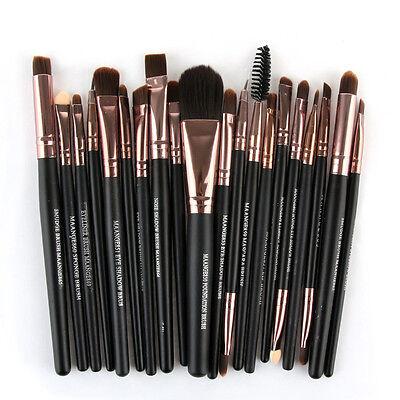 20PCS Cosmetic Make up Brushes Set Foundation Blusher Eyeshadow Lip Brush Tool 2