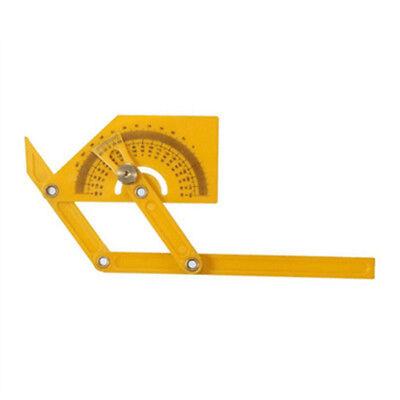 Plastic Angle Finder Protractor Goniometer Miter Gauge Arm Measuring Ruler Tool 4