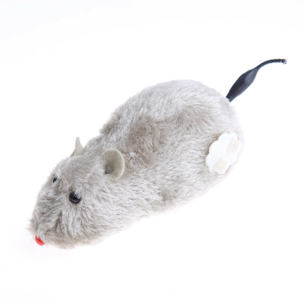 Funny Electronic Mouse Toy Winding Mechanism Rat Mouse Mice Toy For Cat Pet Play