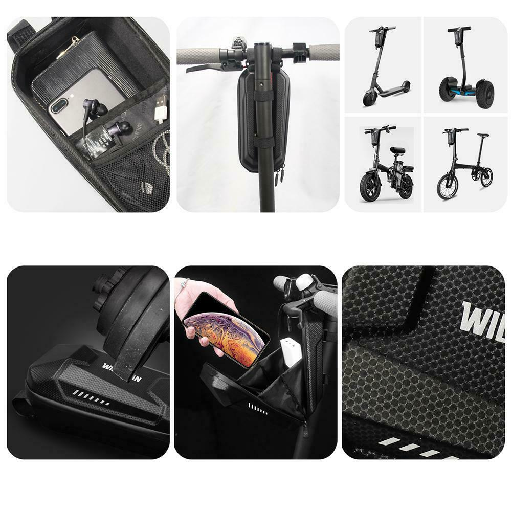 Universal Electric Scooter Storage Bag Carrying Pack Hard Shell For Xiaomi M365 6