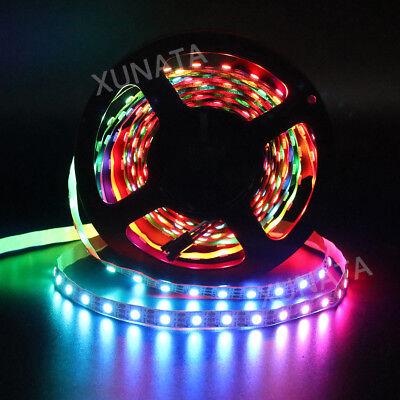 1m 5m 5V WS2812B 5050 RGB 30/60LEDs/M LED Strip ws2812 IC Individual Addressable 8