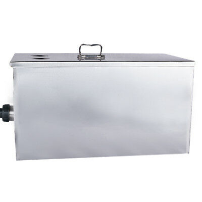 Stainless Steel Grease Trap Interceptor for Restaurant Kitchen Wastewater 5