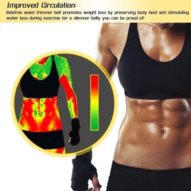 Neoprene Waist Trainer for Men&Women Sport Gym Sweat Slimming Belts Body Shaper 8