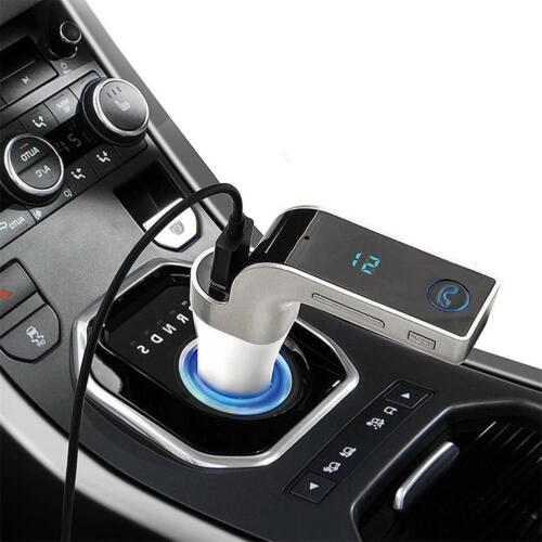 Wireless Bluetooth FM Transmitter Kit For Car MP3 Music Player Radio & USB Port 7