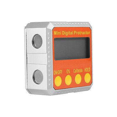 Digital 360 Protractor Electronic Inclinometer Meter 360° Magnetic Meter GB 4