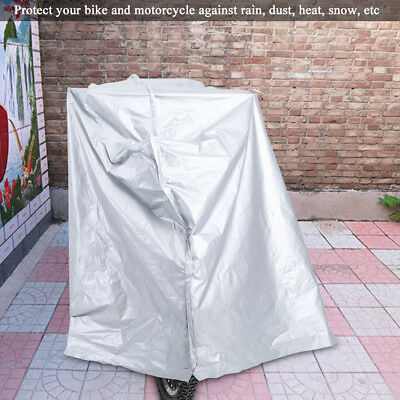 Motorcycle Motor Bike Scooter Waterproof UV Dust Snow Proof Protector Rain Cover 5