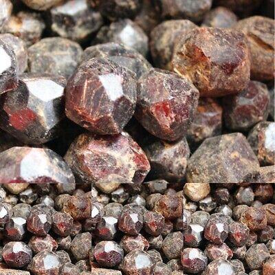 100g Natural Red Garnet Crystal Gemstone Rough Stone Mineral Specimen Healing 4