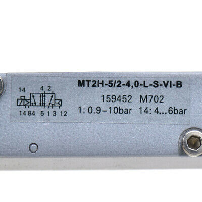 New For FESTO MT2H-5//2-4,0-L-S-VI-B 159452 Solenoid valve