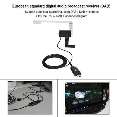 USB2.0 Car Digital Radio Receiver DAB+DAB Radio Tuner Stick Antenna for Android