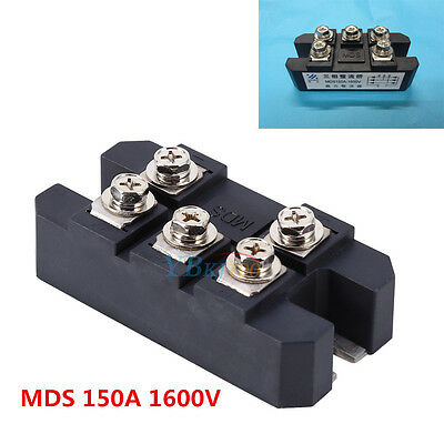 1x Bridge Rectifier 3ph 150A 1600V MDS150A Diode 3 phase 150 amp 1600 Volt