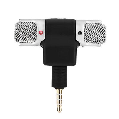 Mini stereo Microfono Registratore audio con jack da 3,5 mm per Smart Phone , 3