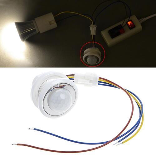 110 ° LED Infrarot Mini PIR Einbau Bewegungsmelder Motion