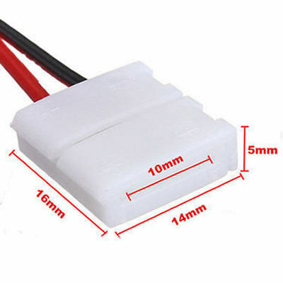 10X Led Strip Light Connector Smd 5050 5630 Single 2 Wire 10Mm Pcb Board Adapter 3