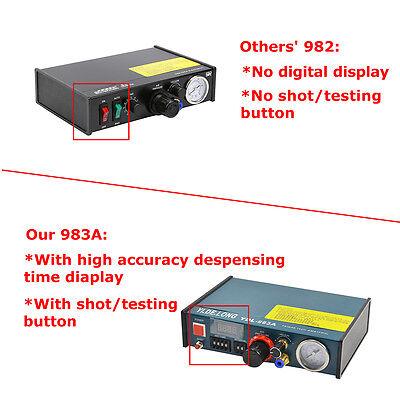 983A Updated Solder Paste Glue Dropper Liquid Dispenser Controller Auto&manual