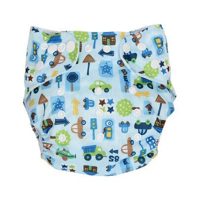 Babywindeln Baumwolle Überhose Stoffwindel Windelhose Waschbar Einlage Unterlage 4