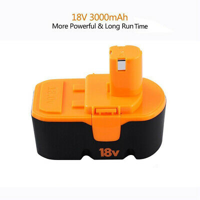 18v 3.0Ah Replace for Ryobi Battery ONE+ P100 P101 1322401 1400672 13022 ABP1801 3