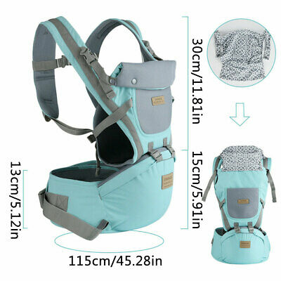 Ergonomic Infant Baby Carrier With Hip Seat Stool Adjustable Wrap Sling Backpack 2