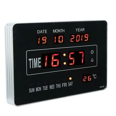 Calendrier électronique multifonctionnel avec horloge numérique et affichage 6