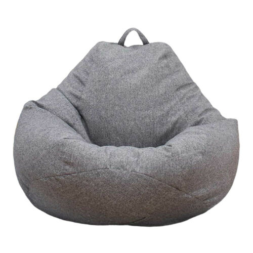 Awesome Large Bean Bag Chair Sofa Cover Indoor Outdoor Game Seat Inzonedesignstudio Interior Chair Design Inzonedesignstudiocom