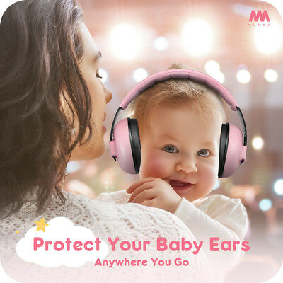 Mumba Baby Earmuffs Ear Hearing Protection Noise Cancelling Headphones For Kids 5