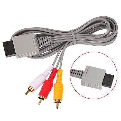 Audio Video AV Composite 3 RCA Cable for Nintendo Wii NEW US SELLER 2