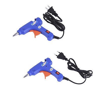 Professional Electric Heating Hot Melt Glue Guns Craft Repair Tool + Glue Sticks 2