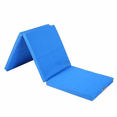 Klappbar Weichbodenmatte Gymnastikmatte Yoga Fitness Matte 180x60x5cm 2 Farben