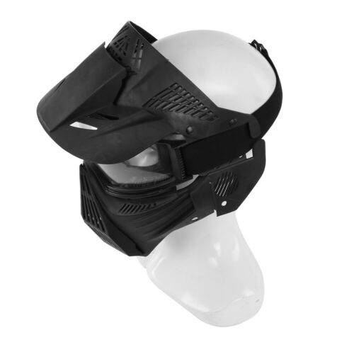Full Face Protective Safety with Goggles Mask Tactical CS Game Paintball Airsoft 4