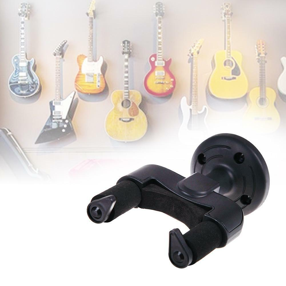 Guitar Wall Mount Hanger Stand Holder Hooks Display Acoustic Electric Bass 2