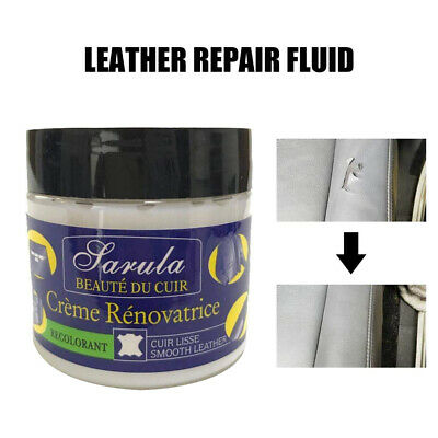 50Ml Eidechse Leather Recolouring Balm Cream Restorer Sofa Chairs 10 Colours A+ 8