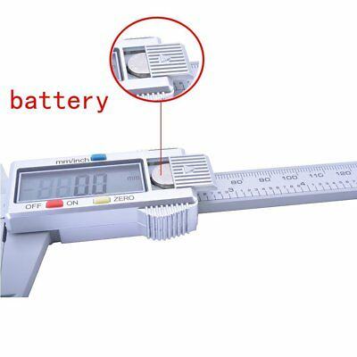 6'' 150mm LCD Digital Vernier Caliper Micrometer Measure Tool Gauge Ruler