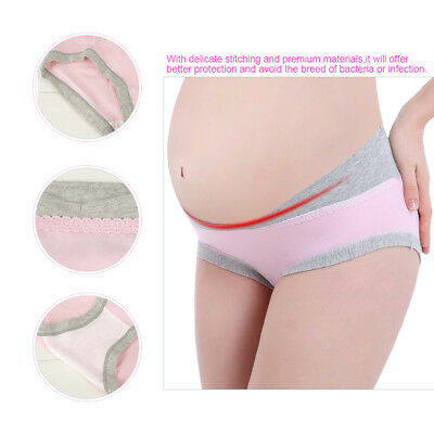 Maternity Panties Cotton Pregnant Women Low-waist Briefs Underwear M/L/XL/XXL 6