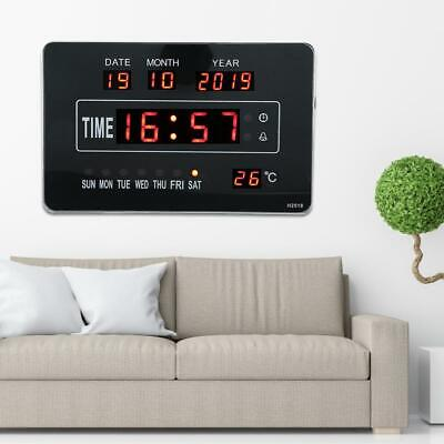 Calendrier électronique multifonctionnel avec horloge numérique et affichage 2