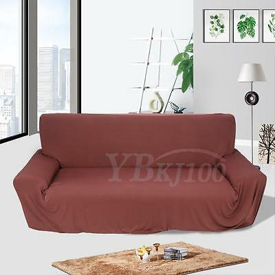 1-3 Seater Stretch Loveseat Sofa Couch Protect Cover Slipcover Washable Elastic 10