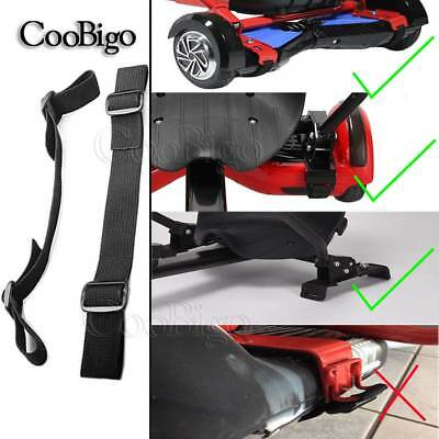 """2X Strong 1"""" Hoverboard Kart Accessories HoverKart Replacement Straps Adjustable"""