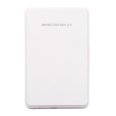 Boîtier Externe pour Disque Dur 2.5'' SATA USB 2.0 Box Enclosure Portatile PC 4