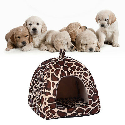 Soft Pet Dog Cat Bed House Kennel Doggy Puppy Warm Cushion Basket Pad Mat S-XL 5