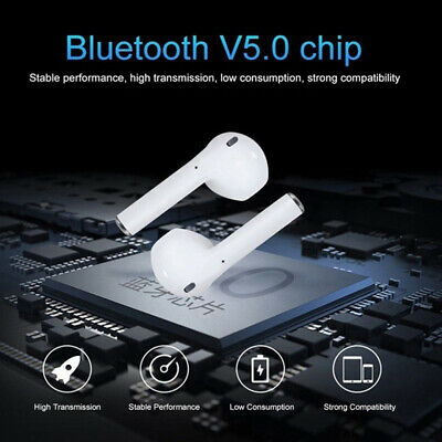 i12 TWS Bluetooth 5.0 Earbuds Wireless Headphones Earphones For iphone Android 4