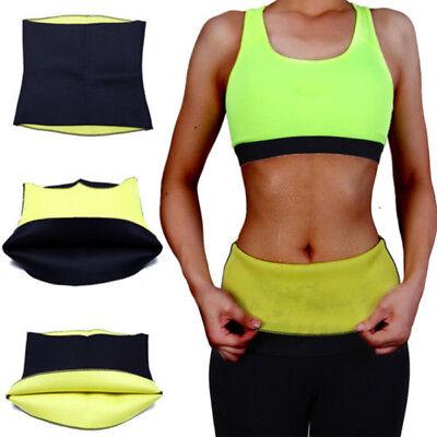 Women Hot Sweat Thermo Neoprene Body Shaper Gym Slimming Waist Trainer Slim Belt 4