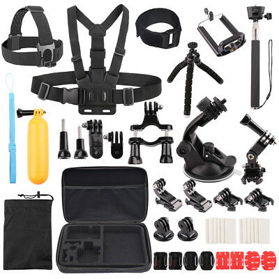 Accessories Kit for Gopro Hero 7 Black 6 5 4 3 Session Tripod Selfie Stick Case 2
