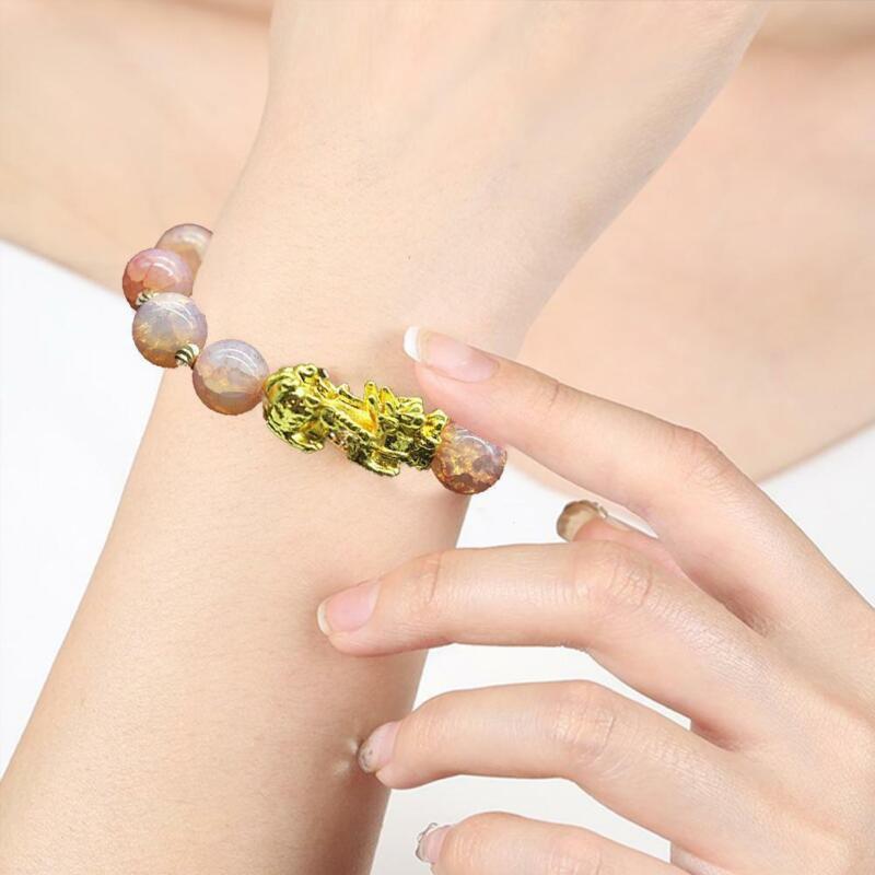 Pixiu Chinese Good Lucky Charm Feng Shui Pi Yao Wealth Bracelets Jade Jewelry 7
