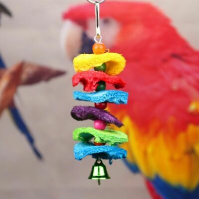 Pets Bird Toy Parrot Hanging Swing Rope Cage Toys Parakeet Cockatiel Budgie Lot 3