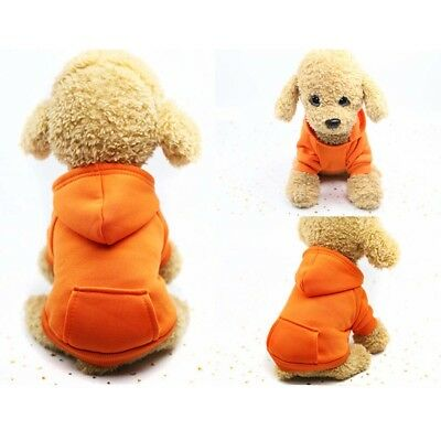 Pet Dog Cat Puppy Sweater Hoodie Coat For Small Pet Dog Warm Costume Apparel HOT 9