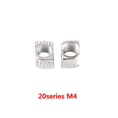 50/100 Hammer Head T Nut M4 M5 M6 20 30 40 Series European Profile Extrusion inm 11