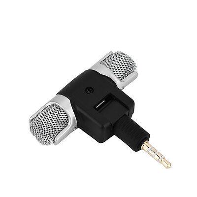 Mini stereo Microfono Registratore audio con jack da 3,5 mm per Smart Phone
