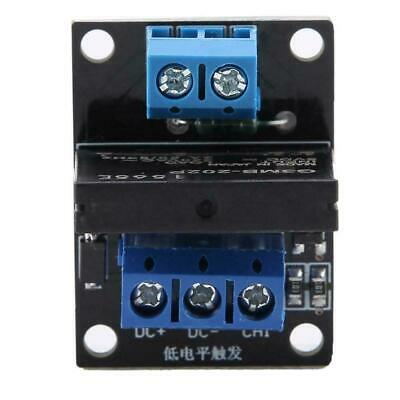 DC 5V/12V 1 Channel Solid State Relay Module Board High & Low Level Trigger 2A 2