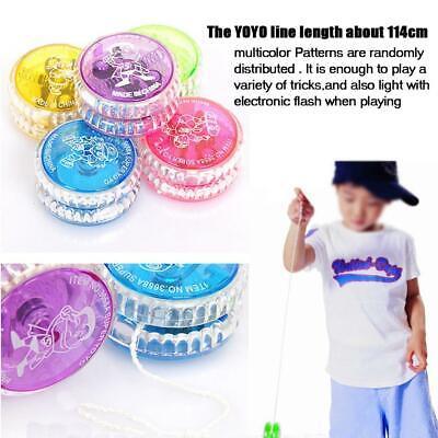 YoYo Trick YO YO Light Up Clutch Mechanism Toy Speed Ball LED Flashing Toys Gift 4