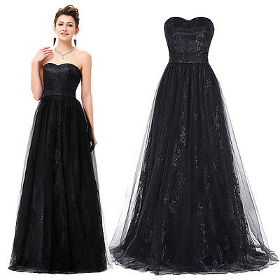 23afde4a93cce ... BLACK Masquerade Ball Gowns Long Prom Dress Bridesmaid Formal Evening  Dresses 3