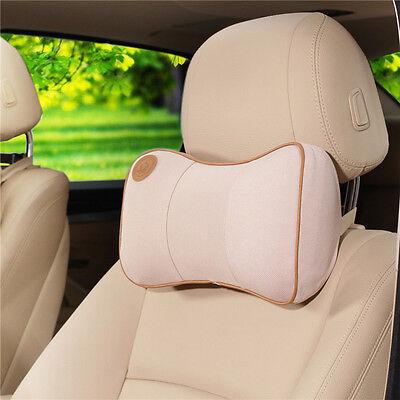 Soft Memory Foam Cushion Car Truck Auto Seat Head Neck Rest Headrest Pillow Pad
