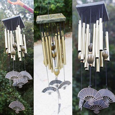 Large Multi-Tubes Windchime Chapel Bells Wind Chimes Door Hanging Home Decor 12